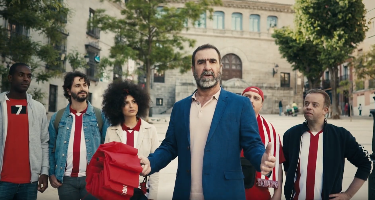 Eric Cantona Takes Us On A Trip To The Champions League Final!