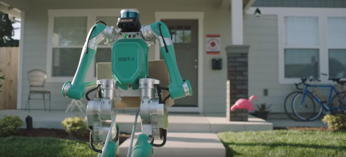 Take A Look At Ford's Futuristic Delivery Robot