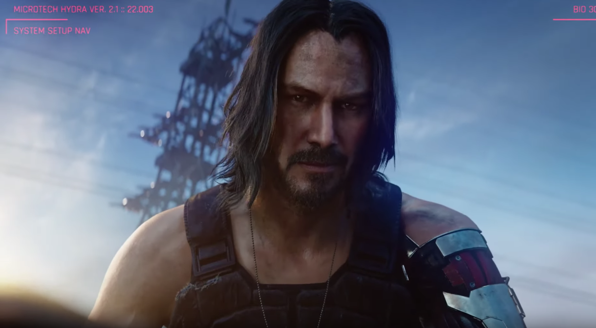 Keanu Reeves Stars In The Incredible Trailer For Cyberpunk 2077