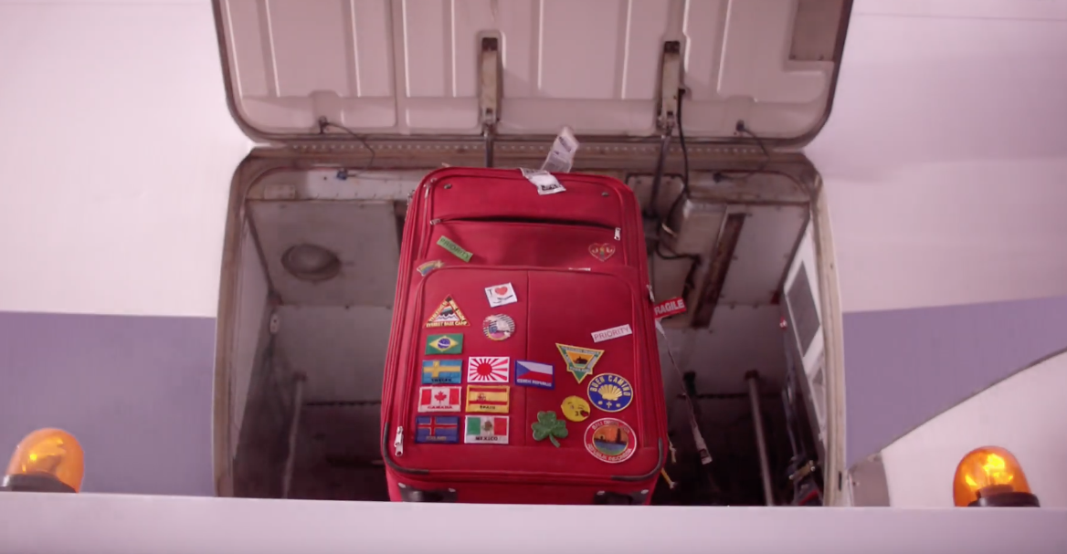A Suitcase Comes To Life In This Funny Ad