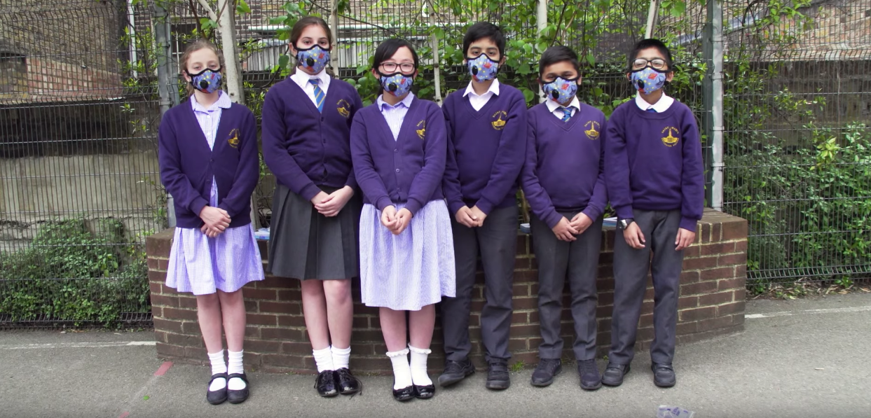 Walking The Toxic School Run In Polluted Central London