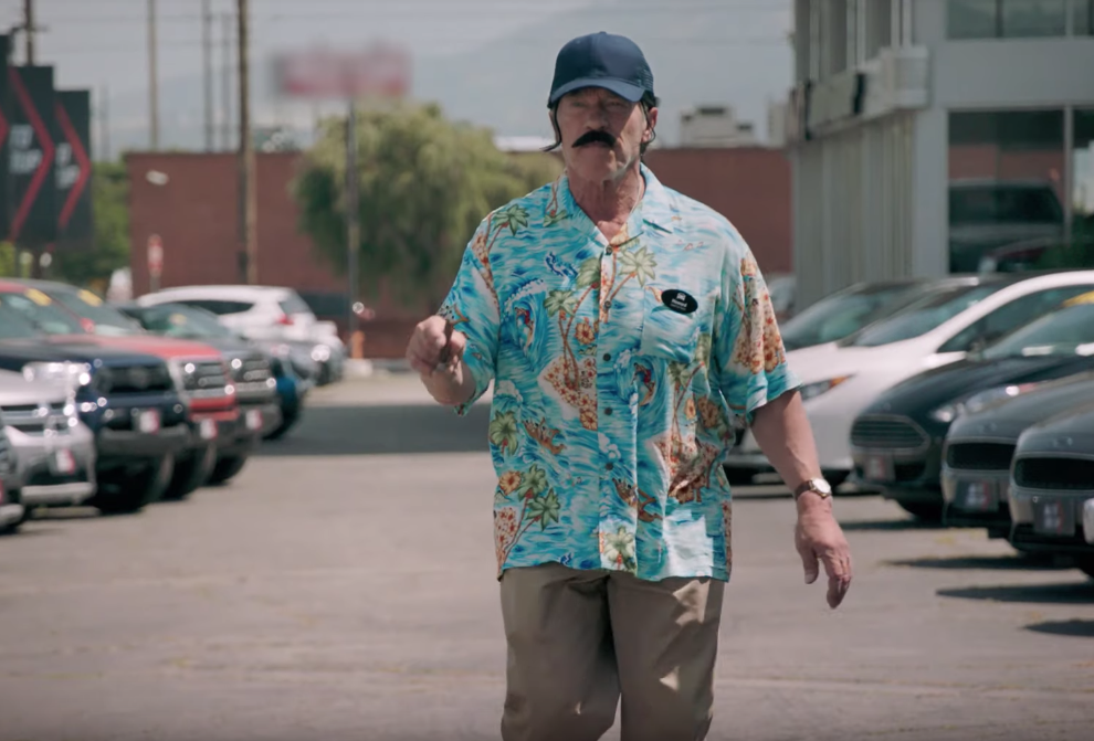 Arnold Schwarzenegger Goes Undercover As A Car Salesman In Funny Ad