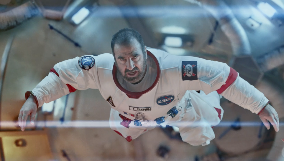 Eric Cantona Takes  A Trip To Space In This Hilarious Ad