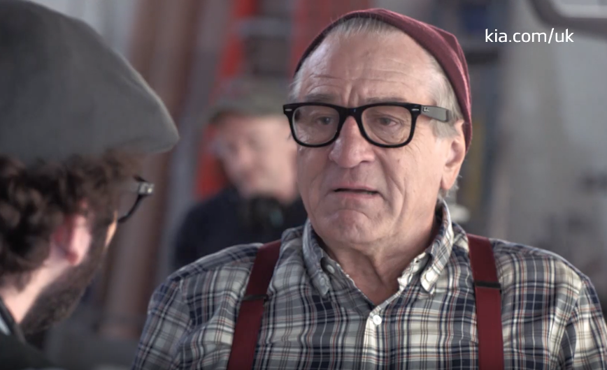 Robert De Niro Becomes A Hipster With KIA