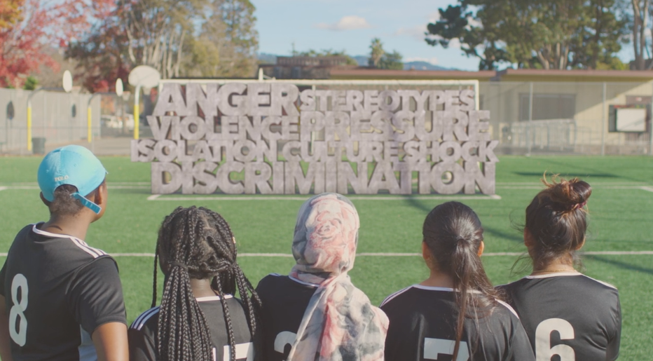 These Girls (Literally) Smash Through Stereotypes With Soccer