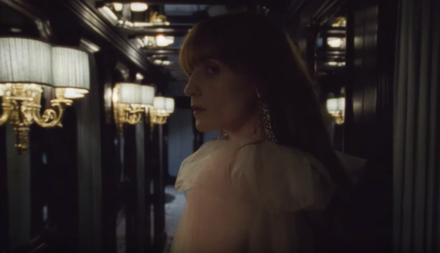 Singer Florence Welch Stars In A Glamorous Ad For Gucci