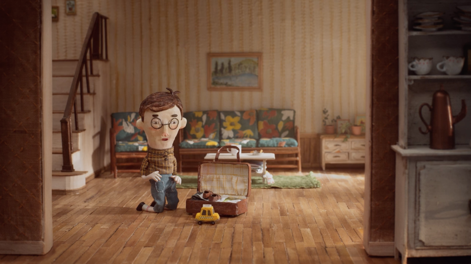 Touching Stop-Motion Film Tells The Story Of A Father And Son