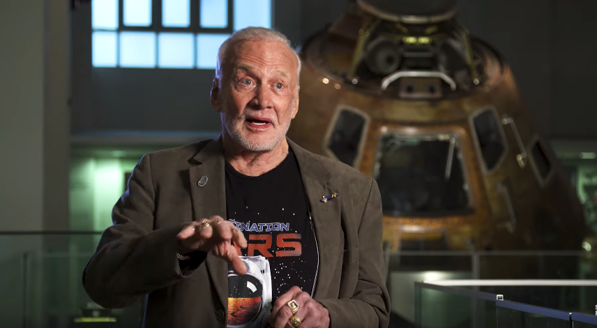 The Science Museum Hear Buzz Aldrin's Story Of The Moon Landing