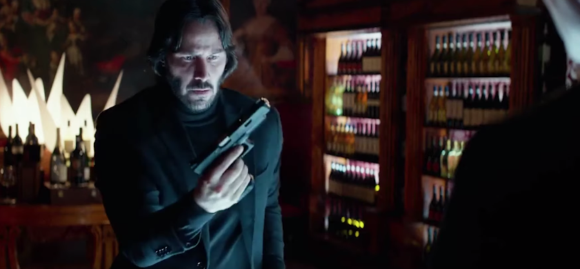 "This Is Where Keanu Reeves Perfected His Shooting Skills For ""John Wick"""