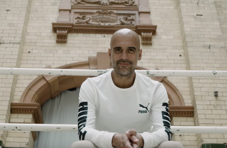 Puma Chats To Man City Manager Pep Guardiola In This Short Film
