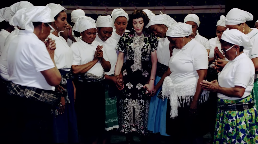 "Madonna Released This Gorgeous For Her Song ""Batuka"""