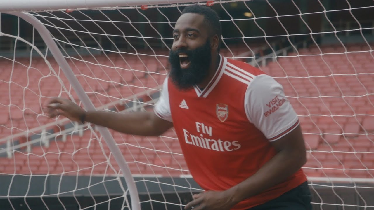 Basketball Star James Harden Explores London With Adidas