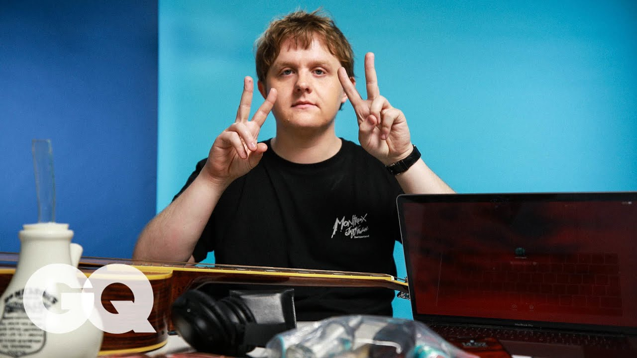 Lewis Capaldi Shows GQ 10 Things He Can't Live Without