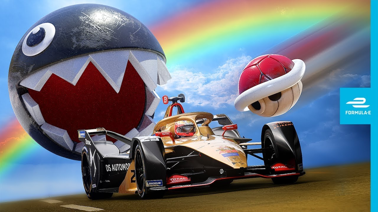 Mario Kart And Formula E Combine In This Awesome Ad!