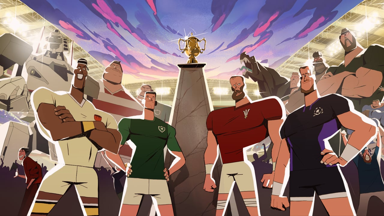 Watch ITV's Epic Animated Ad For The Rugby World Cup