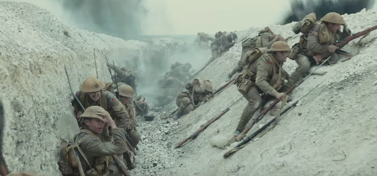 "Trailer For ""1917"" Takes You Inside The Chaos Of WW1"