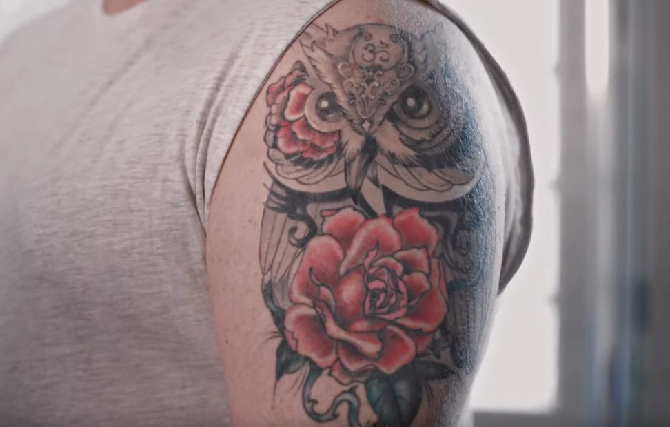 Lynx Bring People's Tattoos To Life In This Weird Ad