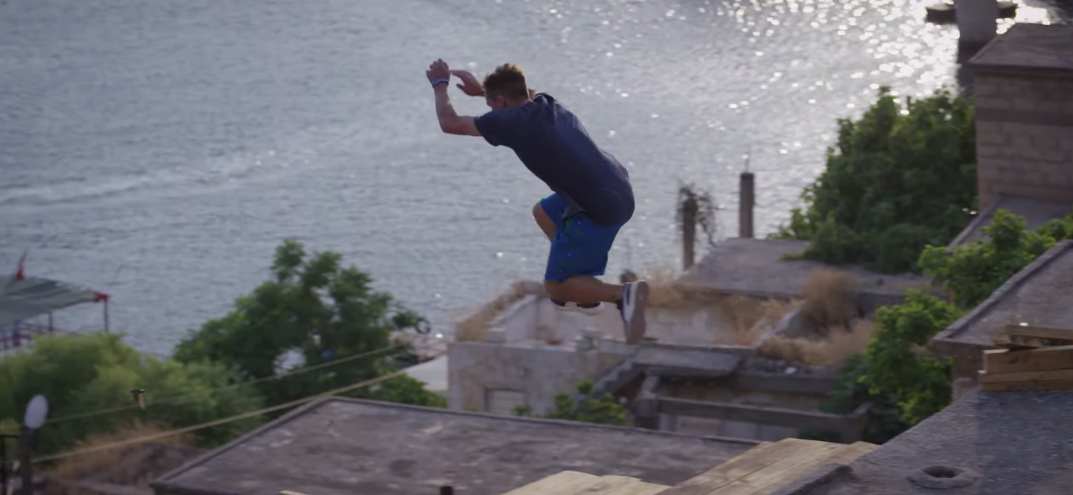 Red Bull Goes Freerunning In A Ghost Town In Turkey