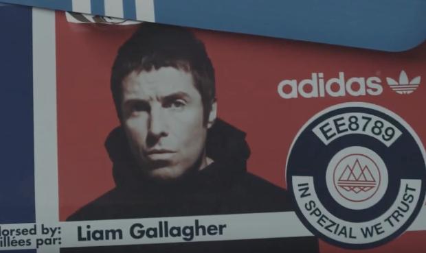Liam Gallagher Launches His Own Line Of Sneakers With Adidas