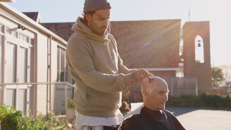 This Street Barber Hears People's Stories About Mental Health