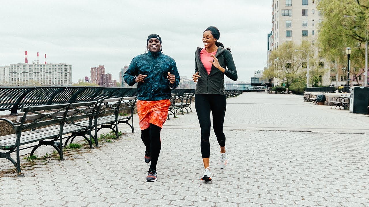 Adidas Goes Running With Rapper Pusha T