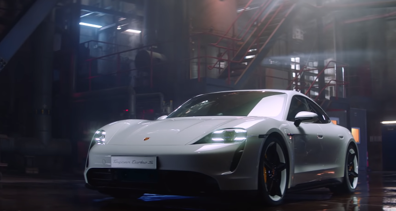 Porsche Shows Off Their First Electric Car With This Classy Ad