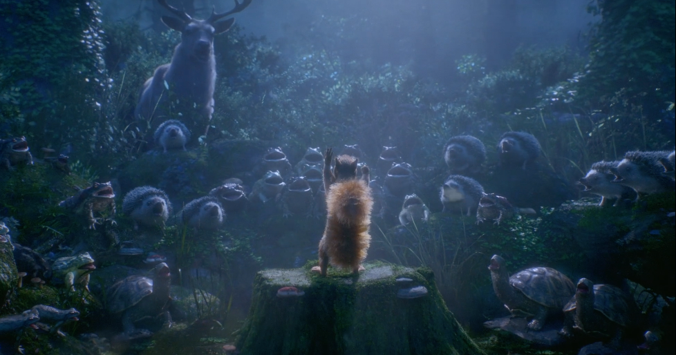 A Squirrel Conducts An Outdoor Orchestra In This Wacky Short Film