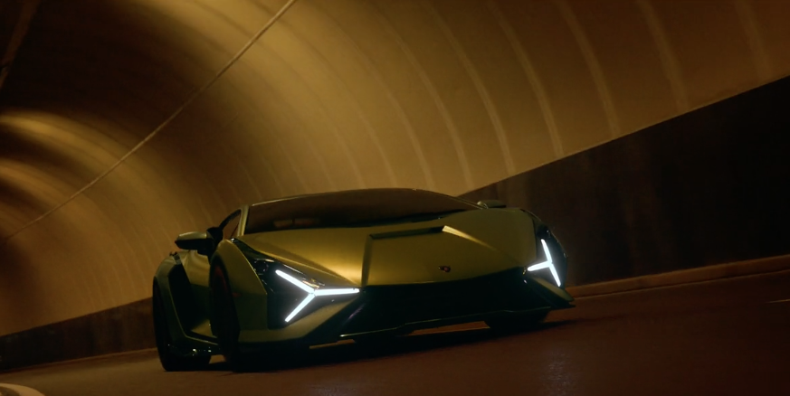 Watch The Mind-Bending Promo For The New Lamborghini Sian