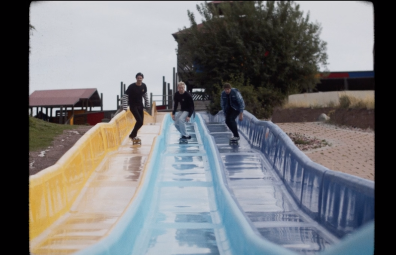 Watch These Skaters Ride Around A Disused Waterpark