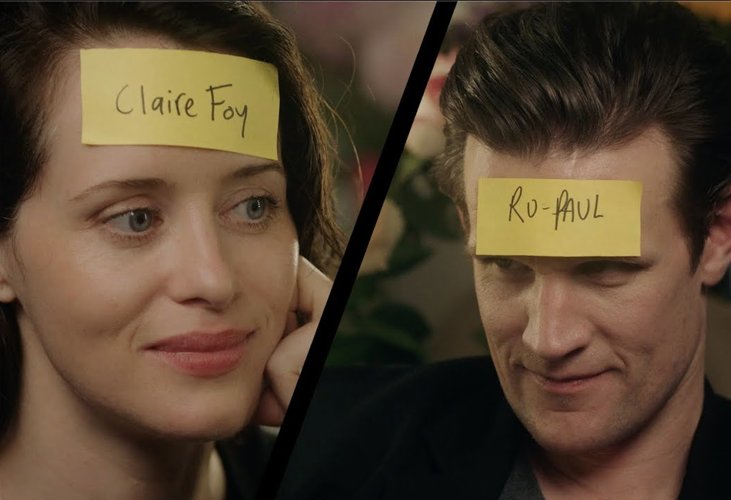 "Matt Smith And Claire Foy Play ""Who Am I?"" With Vogue"