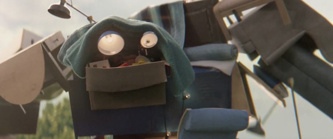 "Ikea Create The ""Stuff Monster"" In This Cute Ad"