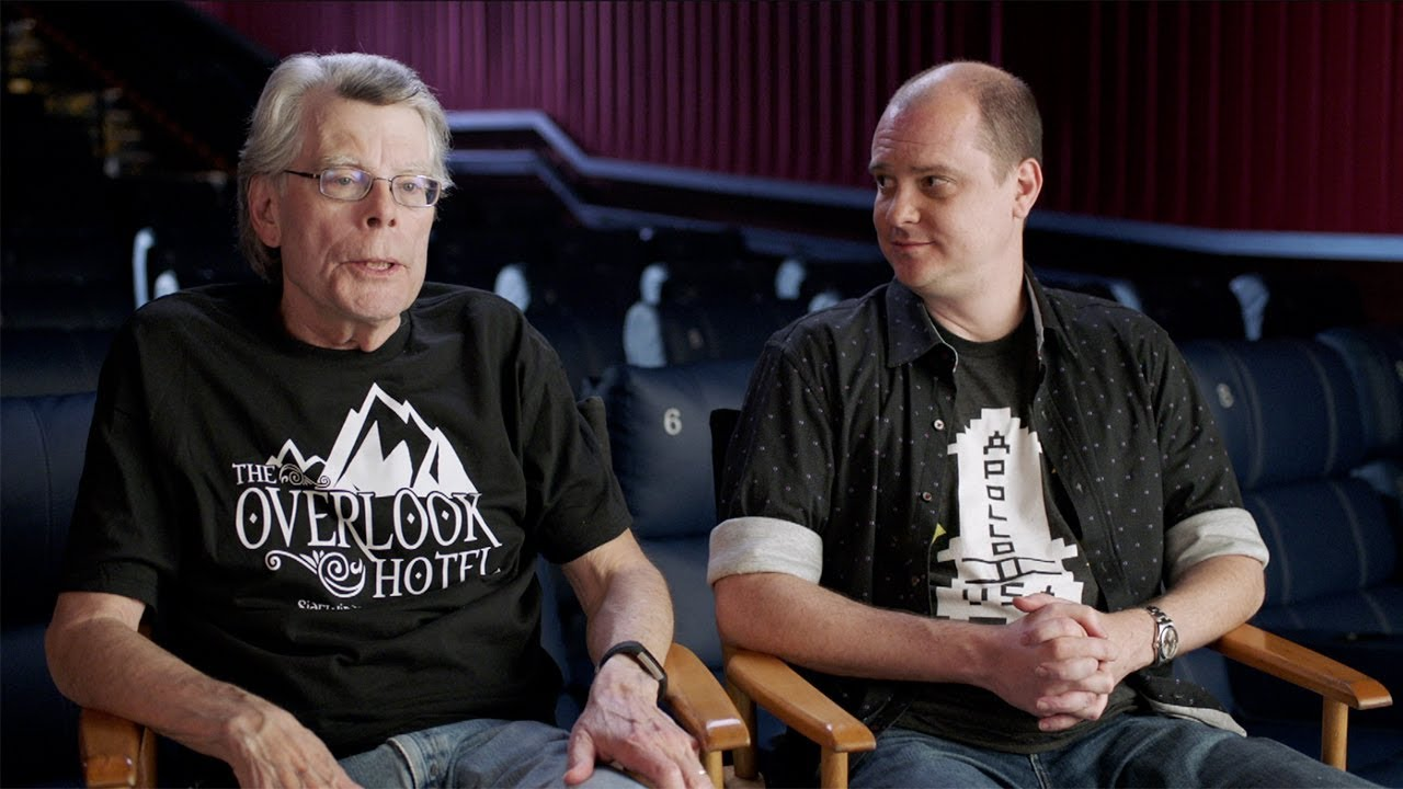 "Stephen King And Mike Flanagan Chat About The Shining Sequel, ""Doctor Sleep"""