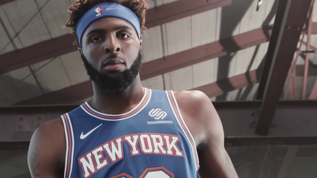 The New York Knicks Show Off Their Brand New Kit For 2019