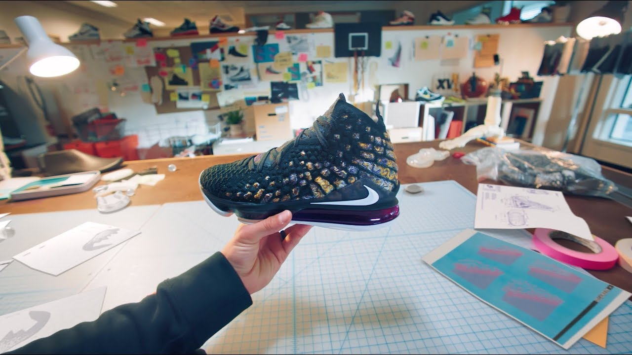 This POV Ad Shows You How Nike LeBron 17 Sneakers Are Made