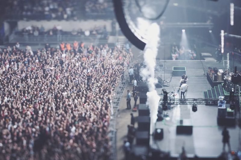 Short Film Shows Us A Two Door Cinema Club Concert In A Whole New Way