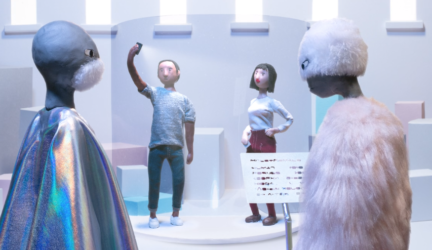 Funny Stop-Motion Animation Imagines What Future Humans Will Look Like