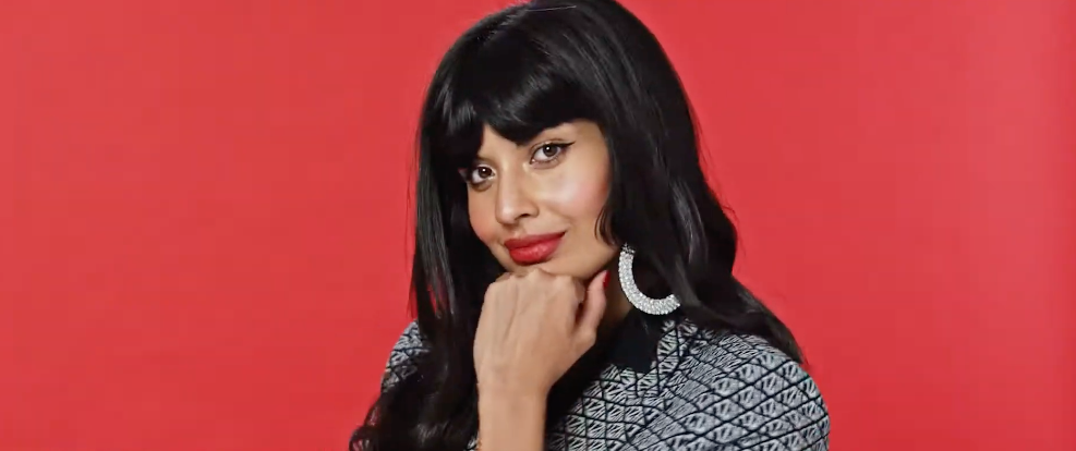 Jameela Jamil Chats To Tommy Hilfiger About Self Confidence In Fashion