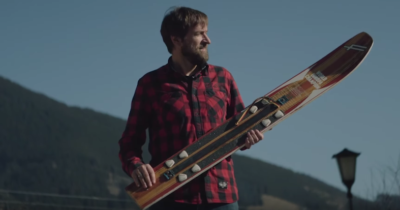 Red Bull Meets A Pioneer Of Snowboarding in Europe