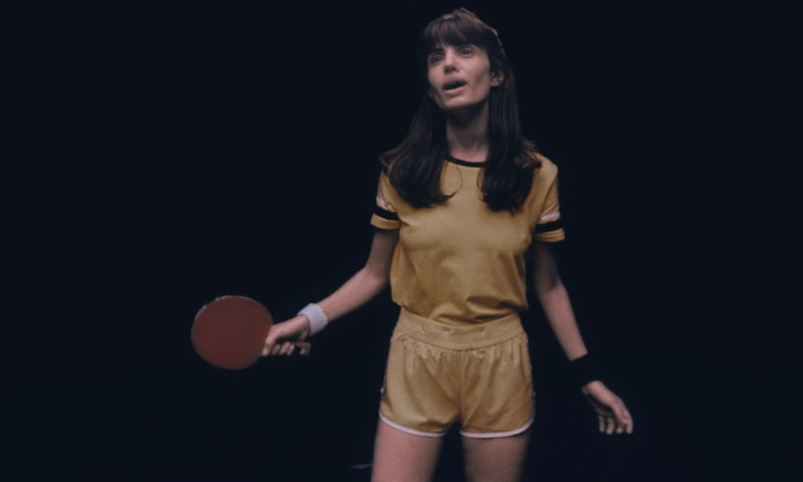 A Couple Plays An Intense Game Of Ping Pong In This Cool Music Video