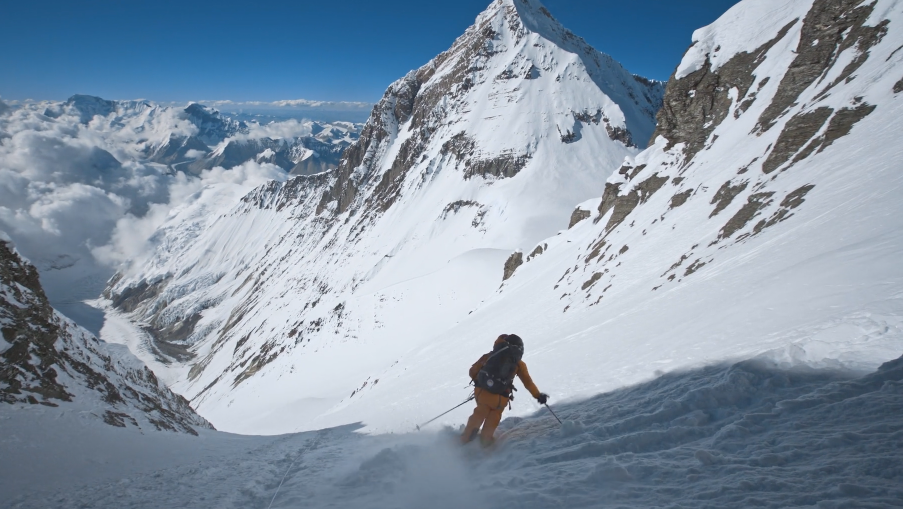 The North Face Follows Two Skiers Up 4th Highest Mountain In The World
