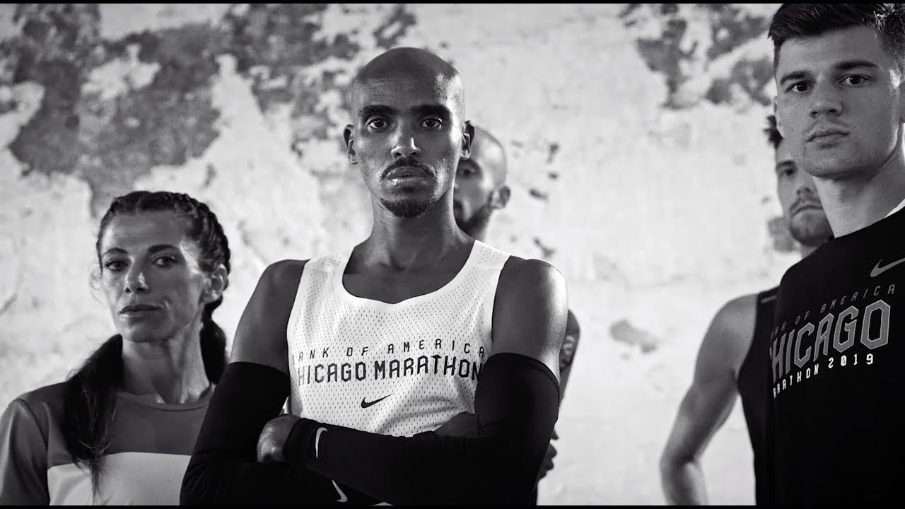 Mo Farah Tells Nike How He Fell In Love With Sports