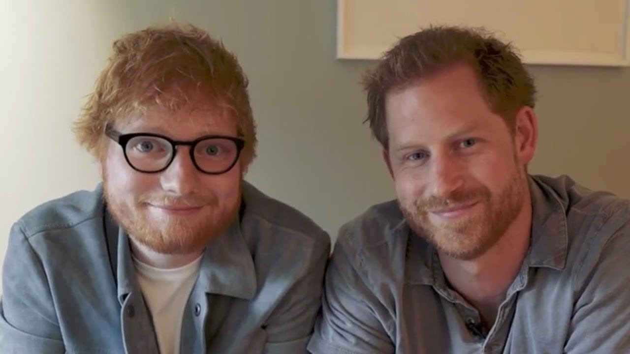 Prince Harry And Ed Sheeran Write A Song For World Mental Health Day