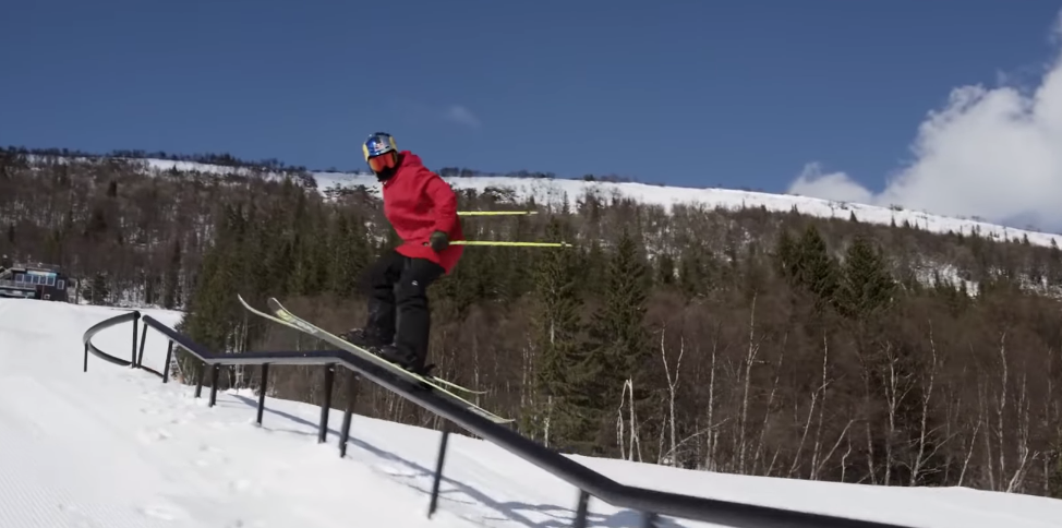 "Red Bull Snow Shows Us Some Insane Skiing Tricks In ""Unrailistic 2"""