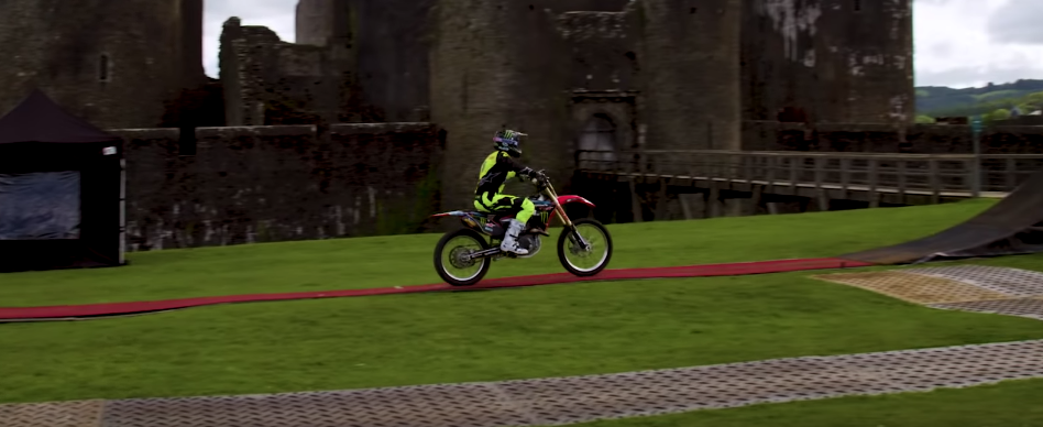 Nitro Circus Completes The First Ever Three-Rider Double Backflip