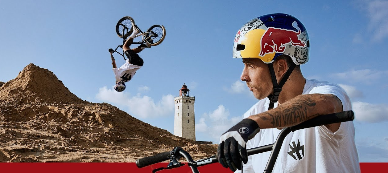 Red Bull Follows A BMX Rider As He Rides Around Denmark's Biggest Landmarks