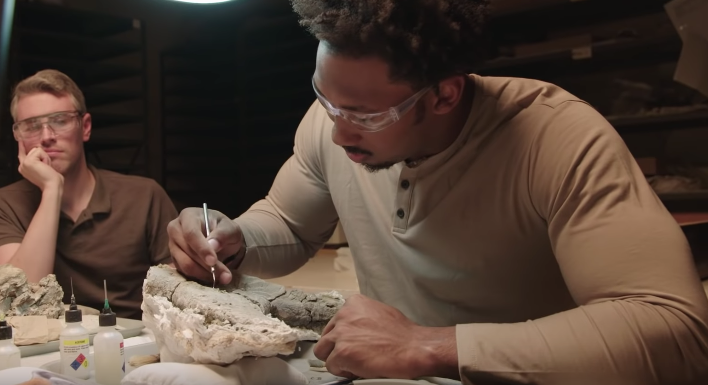 This American Football Star Is Training To Become A Palaeontologist