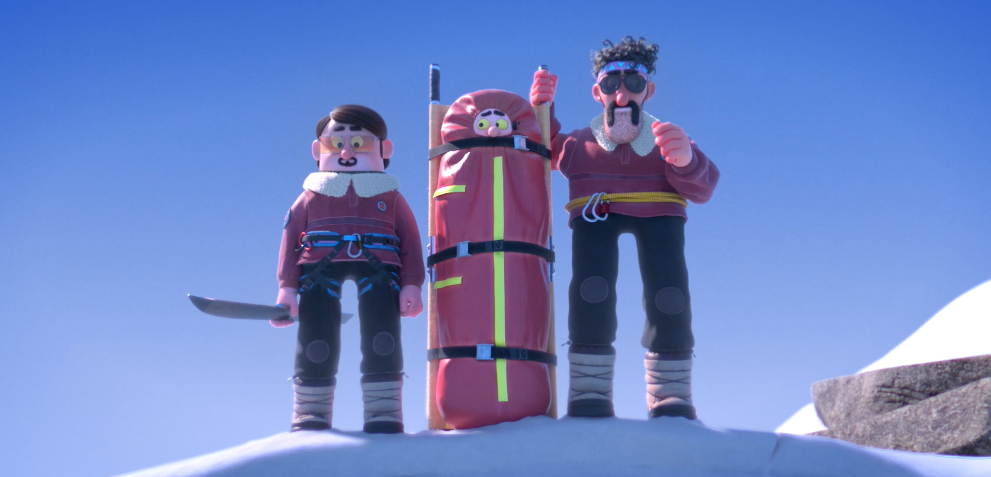 Animated Short Film Shows Us The Worst Mountain Rescue Team Ever