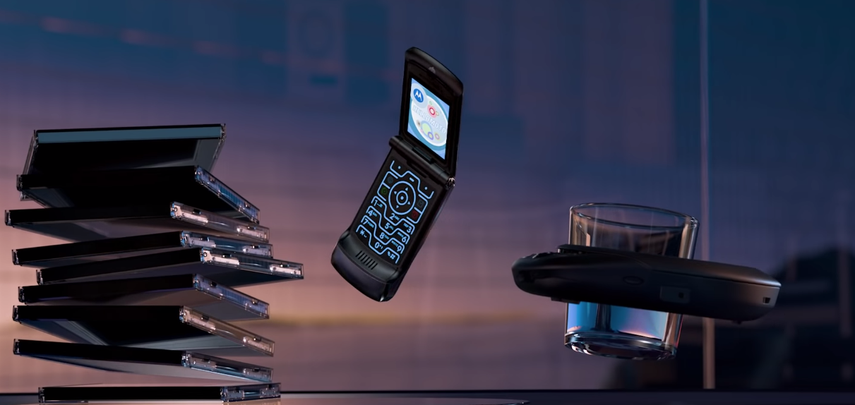 Motorola Announces A Modern Version Of The Razr In This Slick Ad
