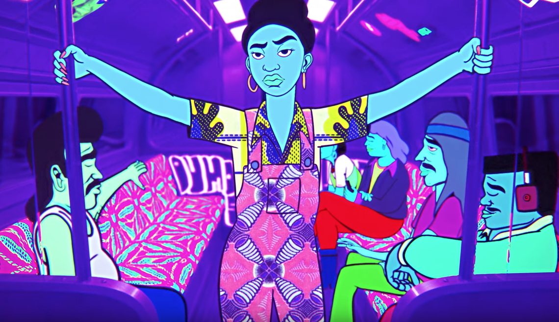 """Q-Tip, Idris Elba & More Feature In The Animated Music Video For """"New Breed"""""""