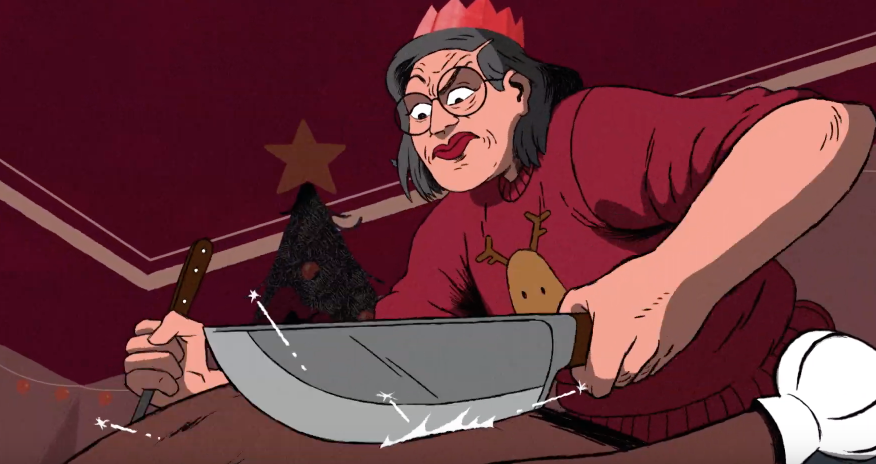 KFC Show Us The Hardest Christmas Turkey Ever In This Animated Ad